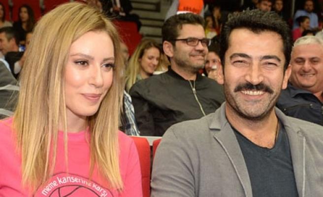 Sinem Kobal ile Kenan İmirzalioğlu'nun romantik anları