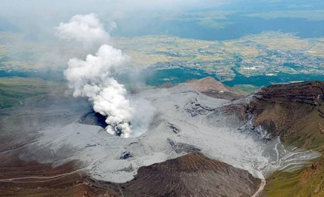 Yanardağ lavları 11 bin metreye yükseldi