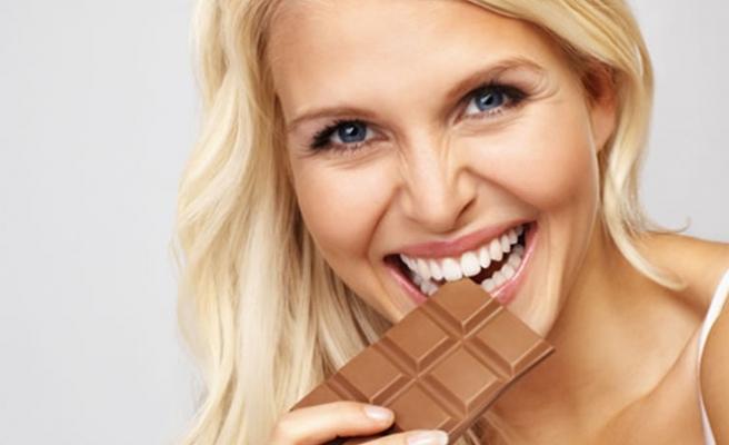 Mutluluk veren çikolataların aşırı tüketimi zararlı