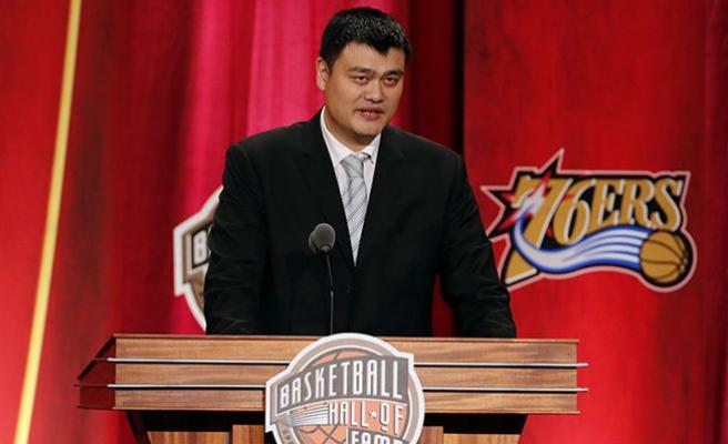 Yao Ming'in forması emekliye ayrıldı