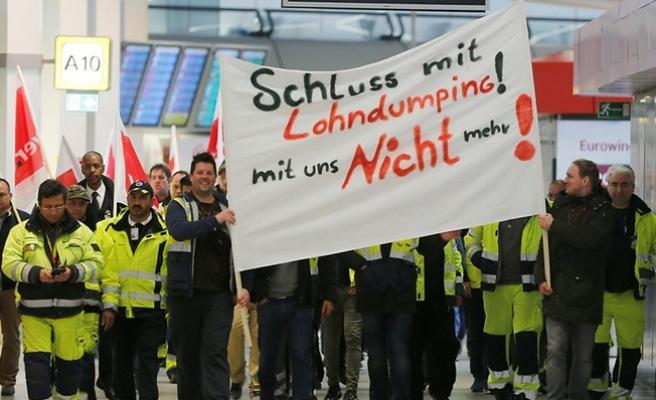 Berlin havalimanlarında grev!