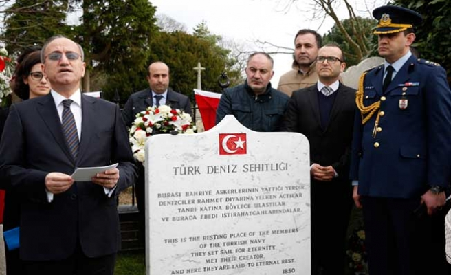 Şehitlerimiz, Britanya'daki Türk Şehitliğinde anıldı