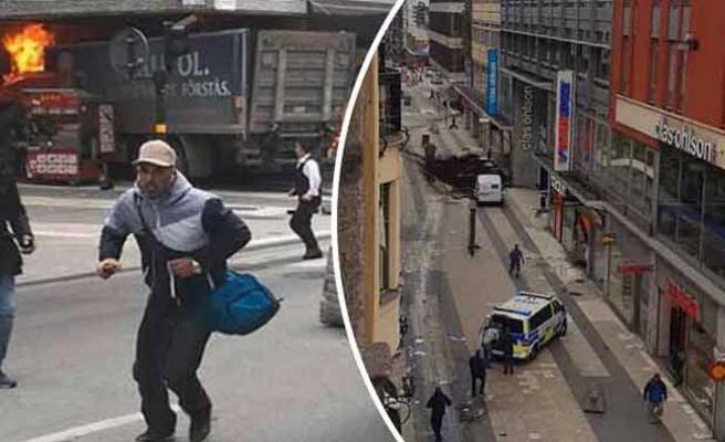 İsveç'te kamyonla saldırı: 3 ölü