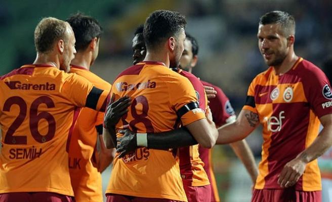 Galatasaray'da son maçına çıkacak