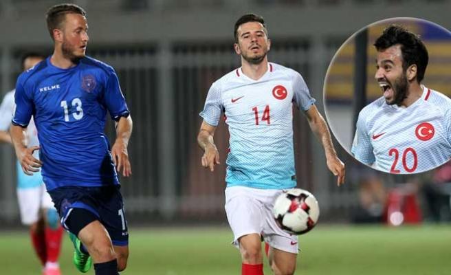 A Milliler Kosova'yı 4 golle geçti