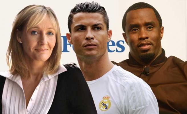 Dünyanın en çok kazanan ünlüleri!