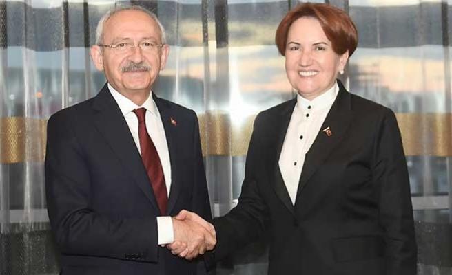 Kılıçdaroğlu, Meral Akşener'le iftar yemeğinde bir araya geldi