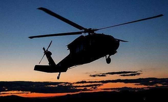 Şırnak'ta helikopter, Türkiye'de 13 ocağa ateş düştü