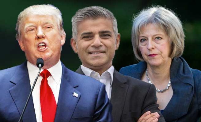 Trump'ın, Londra ziyaretini gözü kesmedi!