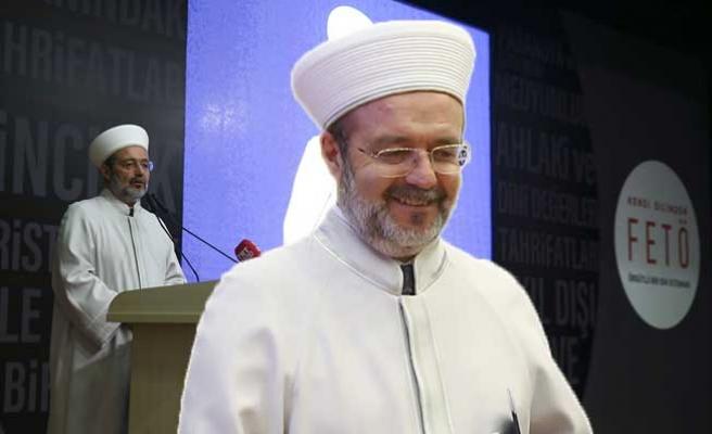 Mehmet Görmez'e istifası sorulunca...
