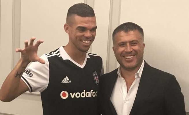 Pepe, Kartal'ın formasını giydi!