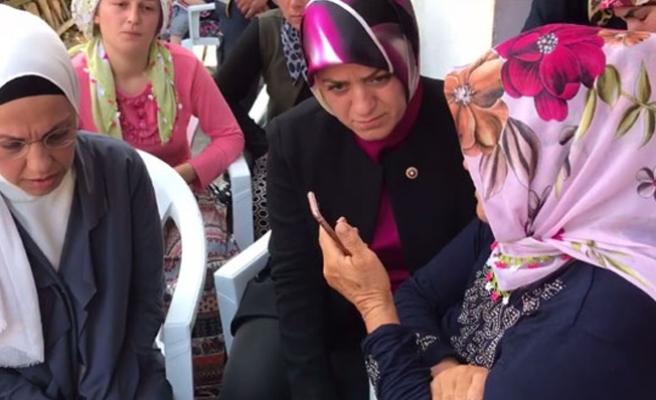Cumhurbaşkanı Erdoğan, Eren'in annesiyle konuştu