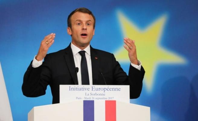 Macron yeni bir Avrupa istiyor