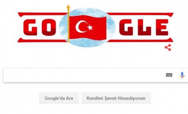 Google'dan Cumhuriyet Bayramı doodle'ı