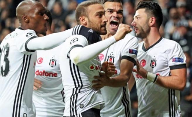Beşiktaş'ın attığı gol, ofsayt gerekçesiyle sayılmadı