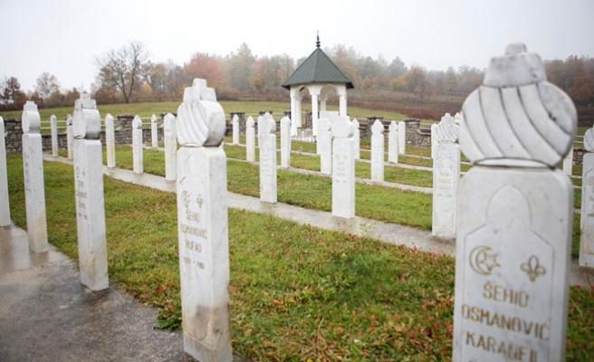 Bosna'daki ilk soykırım Kljuc şehri şehitlerini anıyor