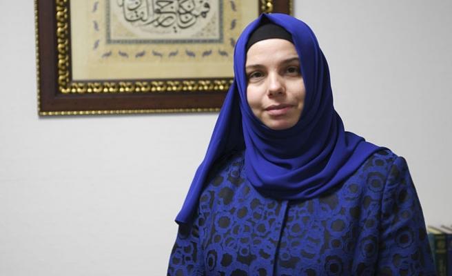 Diyanet İşlerinde ilk kadın başkan yardımcısı göreve başladı