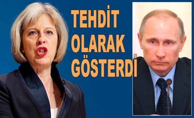 İngiliz Başbakan Rusya'yı hedef aldı