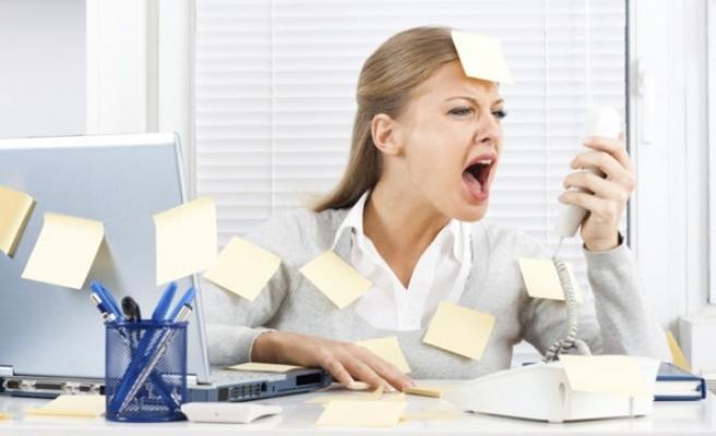 İş streslerini hafife almayın