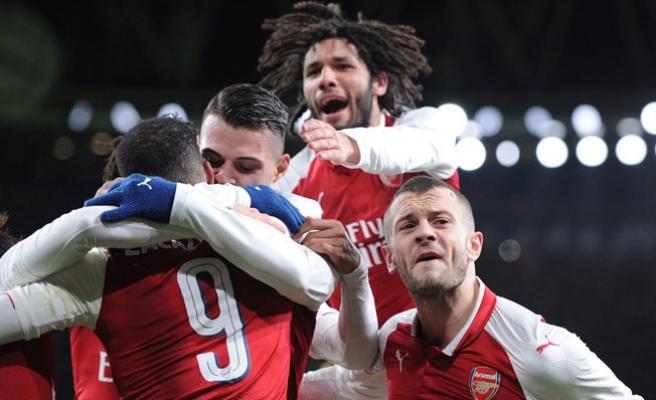 Arsenal finale yükseldi