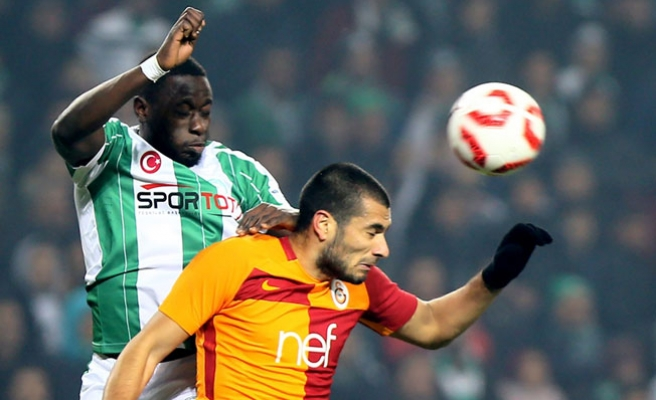 Atiker Konyaspor: 2 - Galatasaray: 2