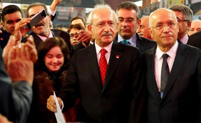 CHP Genel Başkanlığına Kılıçdaroğlu Yeniden Seçildi