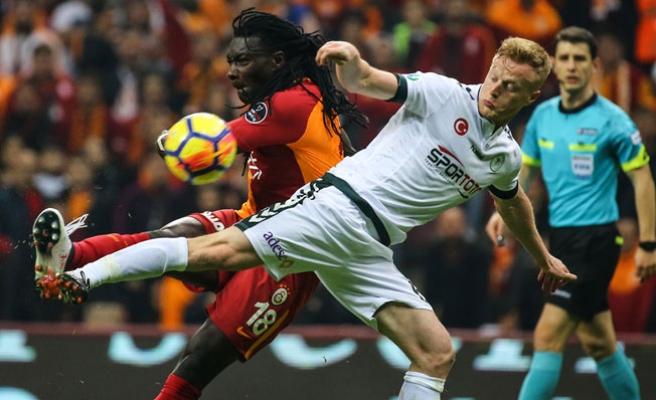 Galatasaray, Konya karşısında zorlandı