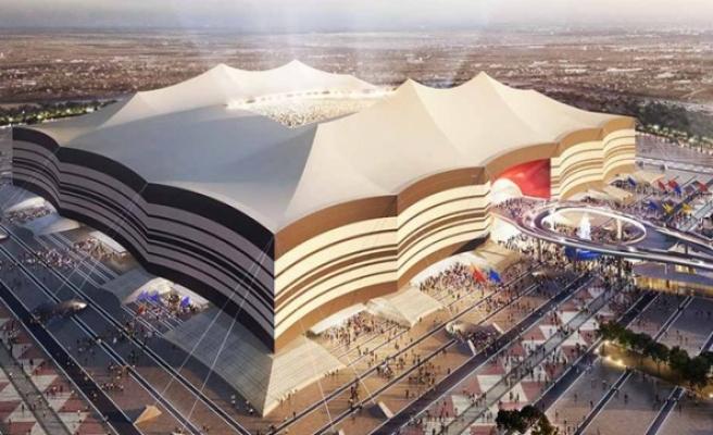 Katar'daki stadın kaplamaları Türkiye'den gidecek