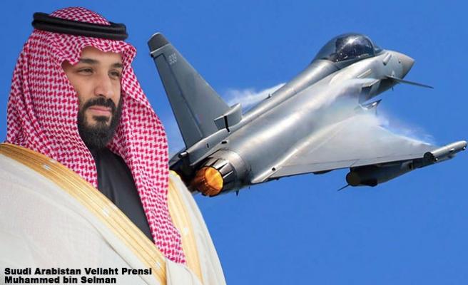 Prens Selman Londra'da 48 Typhoon Savaş Uçağı için imza attı