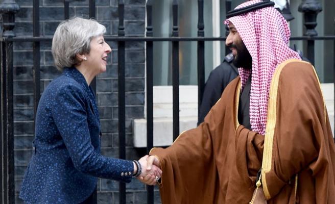 Suudi Arabistan Veliaht Prensi Bin Selman Londra'da