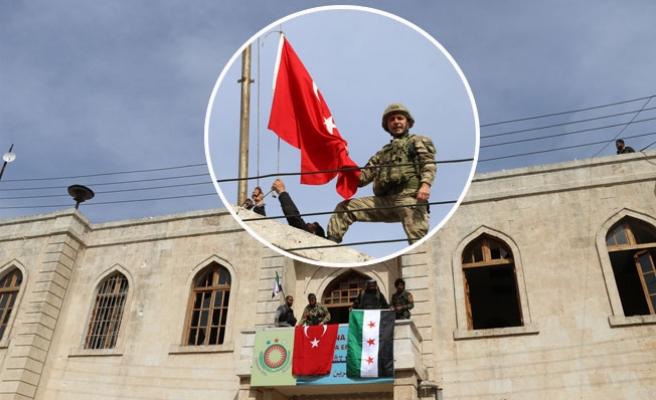 Türk Askeri Afrin'i Kontrol Altına Aldı