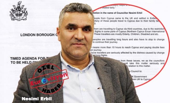 Türk Kökenli Politikacıdan Kuzey Kıbrıs'a Direkt Uçuş Önergesi