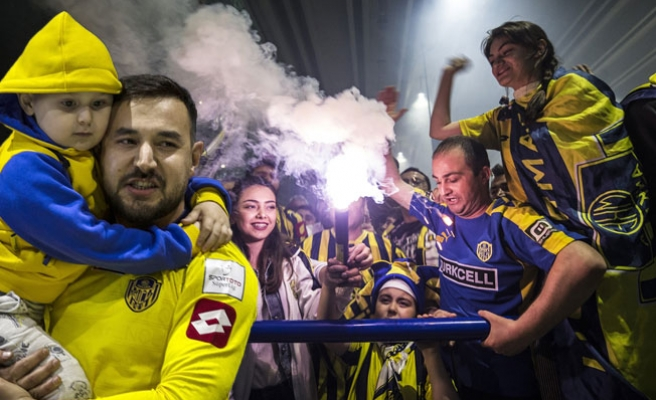 Ankaragüçlü taraftarların Süper Lig Coşkusu