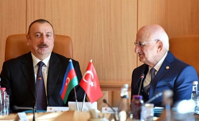 Azerbaycan Cumhurbaşkanı Aliyev TBMM'de