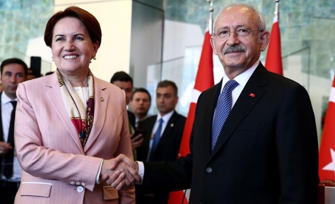 Kılıçdaroğlu, Meral Akşener'le Bir Araya Geldi