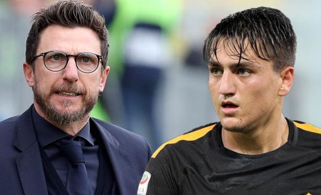 Roma Teknik Direktörü Di Francesco'dan Cengiz Ünder'e Övgü