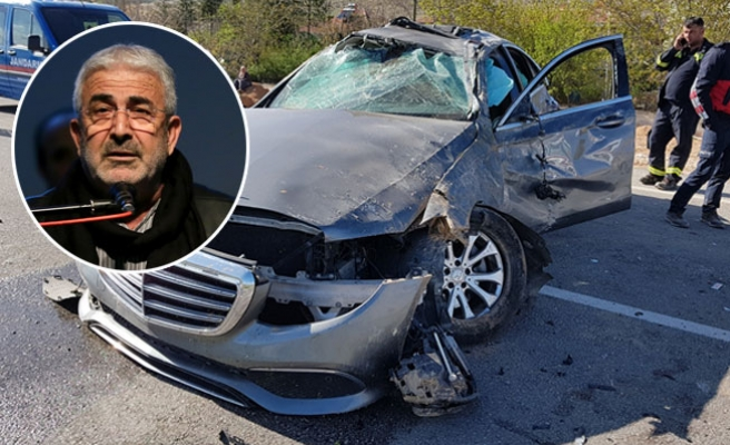 Ünlü Sanatçı Kabaklı Burdur'da trafik kazası geçirdi