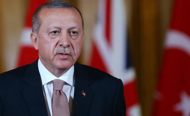 """Erdoğan'dan uçakta """"ramazan ayı"""" mesajı"""
