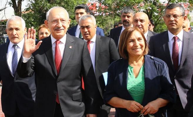 Kılıçdaroğlu, CHP'nin cumhurbaşkanı adayını açıkladı