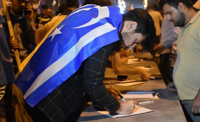 Türkmenler, Irak Seçim Komiserliği aleyhine imza kampanyası başlattı