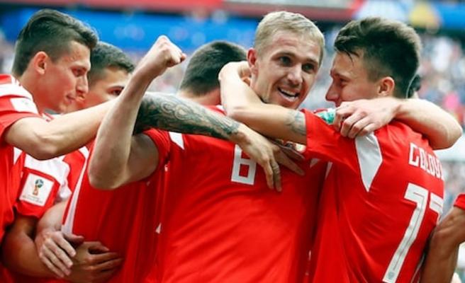 2018 Dünya Kupasının İlk Golü, Rusya'dan Geldi