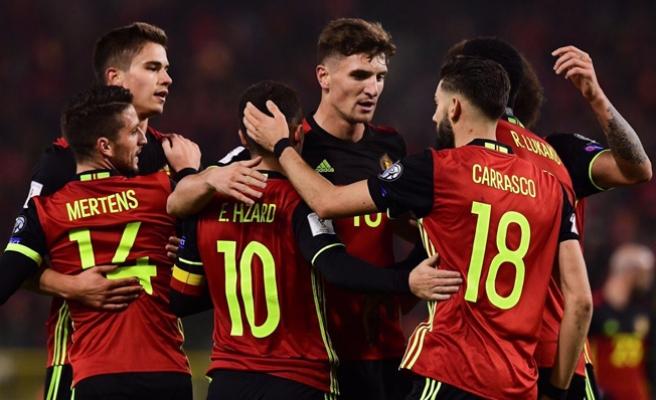 Belçika'nın '2018 FIFA Dünya Kupası' kadrosu belli oldu