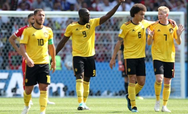 Dünya Kupasında Belçika, Tunus'a fark attı