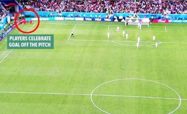 Dünya kupasında İngiltere'yi tarihi golden kurnaz futbolcu kurtardı