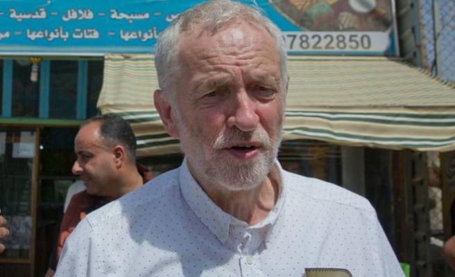 İngiltere'nin ana muhalefet lideri Corbyn'den Filistin'e destek