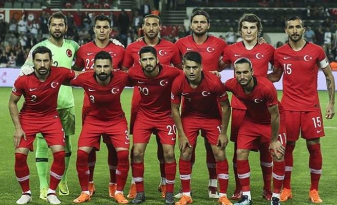 Türkiye FIFA sıralamasında geriledi