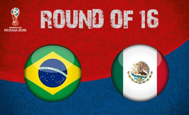 Brezilya, Meksika'yı 2-0 yenerek çeyrek finale yükseldi