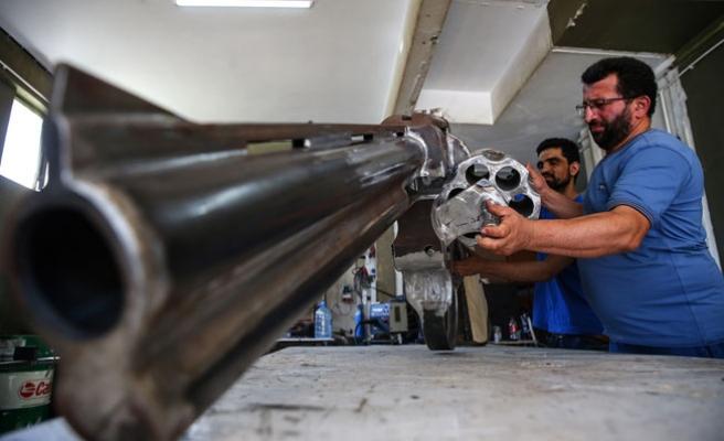 Dev silah üretti, şimdi patentinin peşinde