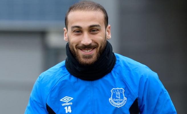 Evertonlı Cenk Tosun, yeni sezona hazırlanıyor