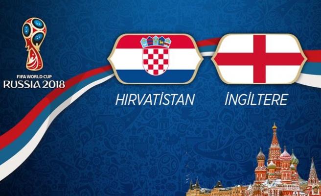 Hırvatistan ile İngiltere Karşılaşacak! İlk 11'ler Belli Oldu